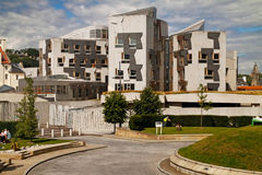 Scottish Parliament. The Scottish Parliament building in Edinburgh, Scotland Stock Photography