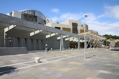 Scottish Parliament 2 Stock Image