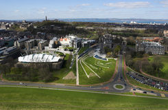 Scottish Parliament Royalty Free Stock Images