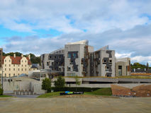 The Scottish Parliament, Edinburgh Royalty Free Stock Photos