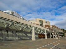 The Scottish Parliament, Edinburgh Stock Photo