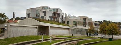 Scottish Parliament exterior Stock Photo