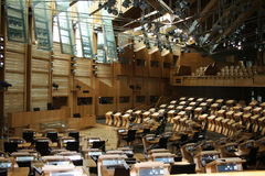 Scottish Parliment Stock Photos
