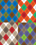 Scottish pattern Stock Image