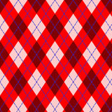 Scottish pattern. Seamless vector argyle pattern, vertically and horizontally tile-able, editable and scalable Royalty Free Stock Photo