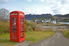 Scottish Phonebox Stock Photography