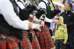 Scottish Pipe Band Stock Images