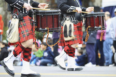 Scottish Pipe Band Royalty Free Stock Photography
