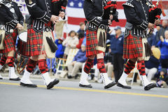 Scottish Pipe Band Royalty Free Stock Image