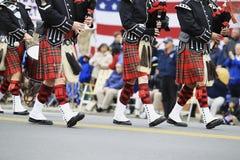 Scottish Pipe Band Royalty Free Stock Image