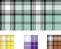 Scottish plaid Stock Photo