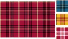 The Scottish plaid Stock Photo