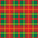 Scottish plaid. Colored Scottish plaid non-suture pattern Stock Image