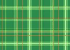 Scottish plaid. Vector illustration of The Scottish plaid. Textured tartan background. Seamless pattern stock illustration