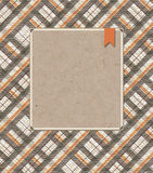 Scottish plaid background Royalty Free Stock Images
