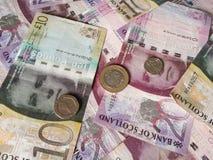 Scottish Pound notes Stock Image