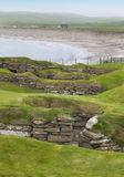 Scottish prehistoric site in Orkney. Skara Brae. Scotland Stock Images