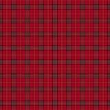 Scottish red tartan background. Royalty Free Stock Photo