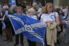 2014 Scottish Referendum Campaign Stock Image