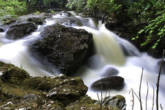 Scottish river or burn Royalty Free Stock Images