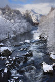 A Scottish river in winter Stock Image