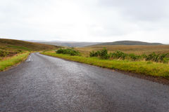 Scottish road trough countryside Stock Image