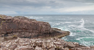 Scottish Rock Coastline Stock Photo