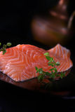 Scottish Salmon Fillet Fotografia Stock