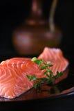 Scottish Salmon Fillet III Fotografie Stock