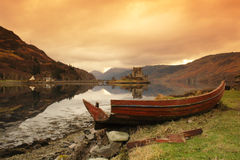 Scottish scenery - Eilean Donan Castle Royalty Free Stock Photo