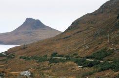 Scottish scenery with hills Stock Image