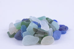 Scottish sea glass Royalty Free Stock Image