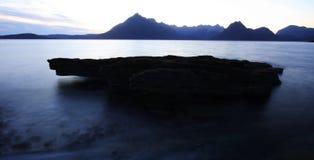 Scottish sea landscape royalty free stock image