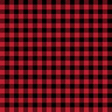 Scottish seamless background. Vector red and black scottish fabric. Stock Photo