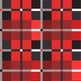 Scottish seamless pattern. Vector illustration. Scottish seamless pattern. Red, black and white colors. Vector illustration vector illustration