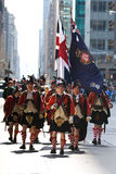 Scottish Soldiers. Picture Taken During The 13th Annual Tartan Day Parade On Saturday April 9, 2011 In New York City. The Parade Begins At 45th Street On Sixth stock photos