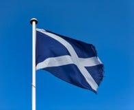 Scottish St Andrews Flag stock images