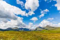 Scottish Summer Mountains Royalty Free Stock Images