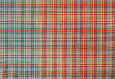 Scottish tartan check pattern Stock Image