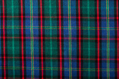 Scottish tartan pattern. Stock Photos