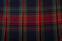 Scottish tartan pattern. Stock Image