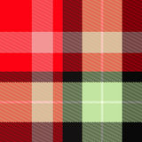 Scottish tartan plaid Royalty Free Stock Image