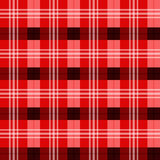 Scottish tartan texture. Shades of red Stock Image