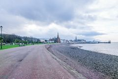 Scottish Town of Largs royalty free stock photo