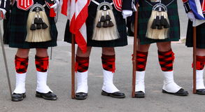 Scottish Uniforms Stock Photos