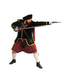 Scottish warrior Stock Images