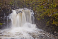 Scottish waterfall Stock Photography