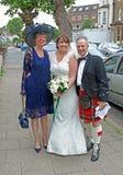 Scottish wedding Royalty Free Stock Photos