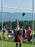 Scottish Weight for Height – Highland Games, Salem, VA Stock Photos