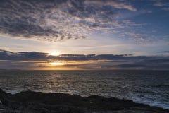 Scottish West Coast Sunset stock photography